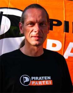 Bernd Schreiner - Vorsitzender der PIRATEN Thüringen